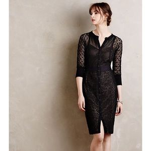 Beguile Byron Lars Anthropologie Mona Black Dress